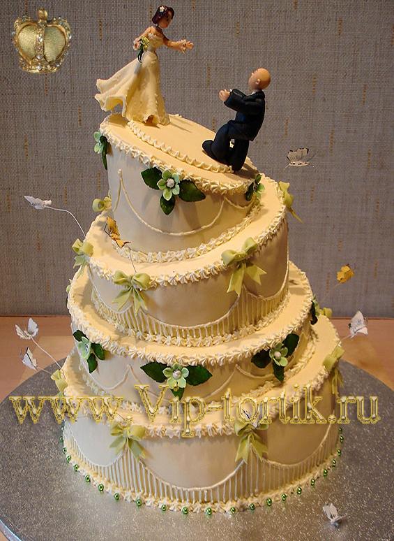 Торты свадебный торт лови мечту наша